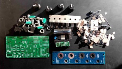 omsonic – Transistor Ladder Filter FULL DIY KIT
